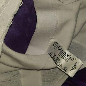 Glamorise Intimates & Sleepwear - NWOT** Glamorise Women's plus sz.WHITE colored bra